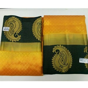 Right now available for 👆 Tusser saree