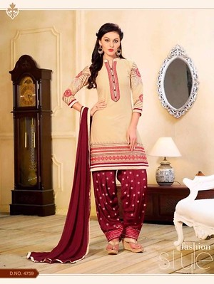 [11/29, 17:48] Moonbow online  store: Patiyala House 33 Full Catalog 379 [11/29, 17:49] Moonbow online  store: Top ..cotton with embroidery Bottom.. sanction with embroidery.. Dupatta... shifon.. Form