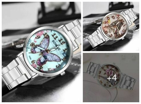 attractive-dial-metal-watches-for-women
