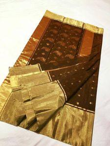 Cotton Silk Chanderi saree