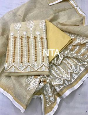 Designer aari work suits