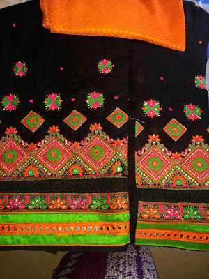 embroidery suits with bright colours from punjabbbb.............